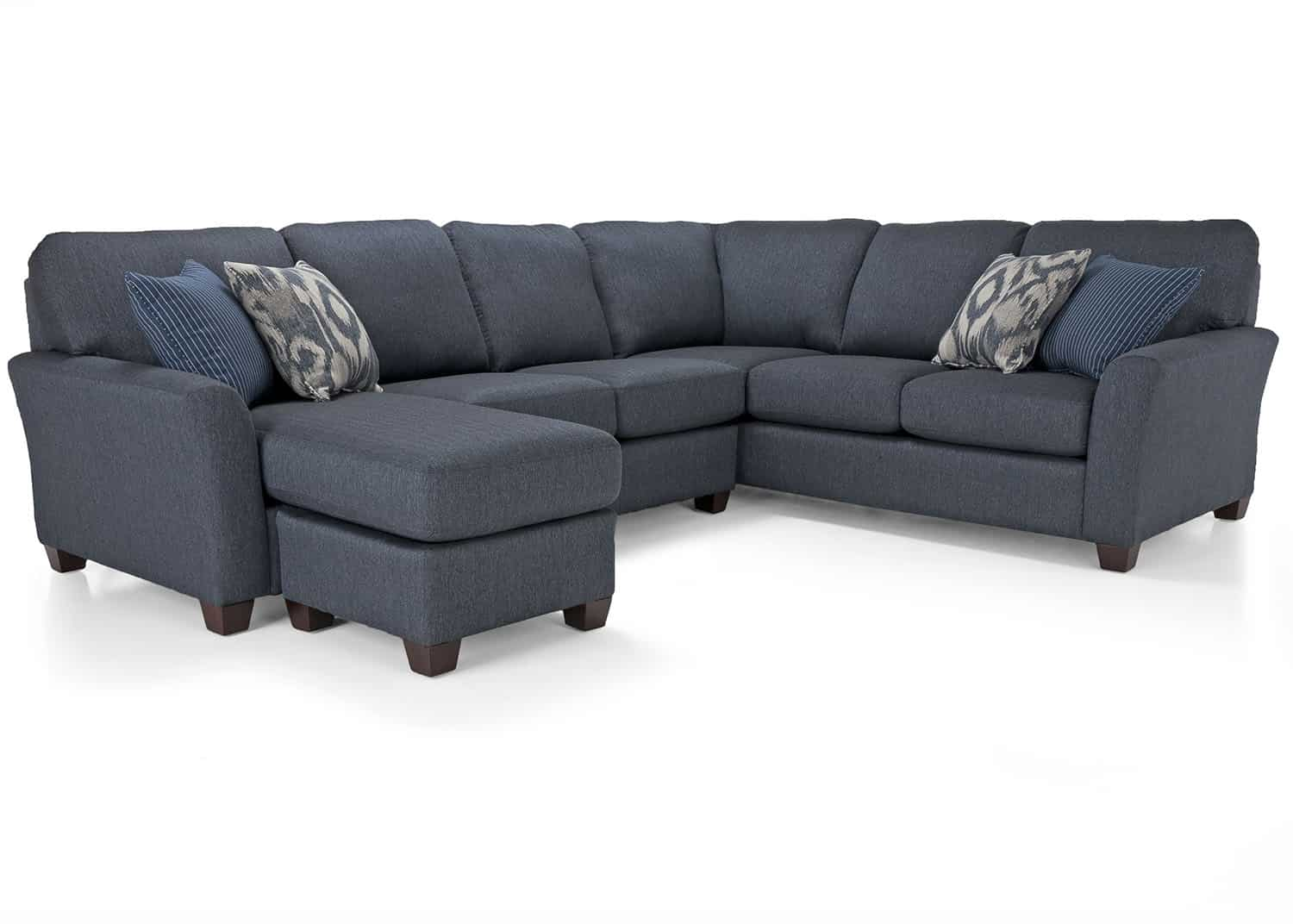 Brent sectional sofa mobilart decor high end furniture for Meuble sofa montreal