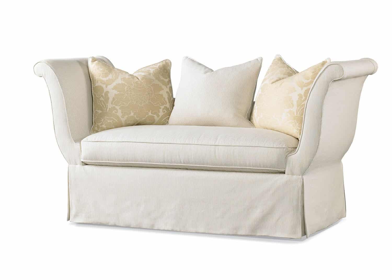 Charleston Settee Mobilart Decor High End Furniture