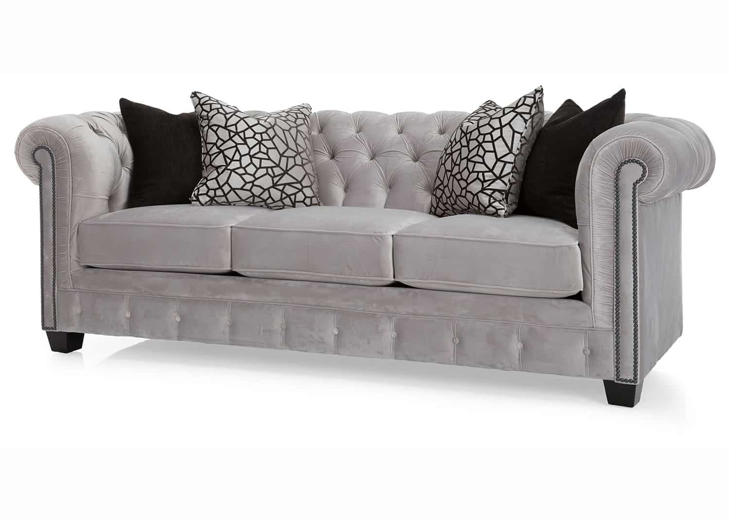 Chatsworth canap chesterfield mobilart decor high end for Meuble sofa montreal