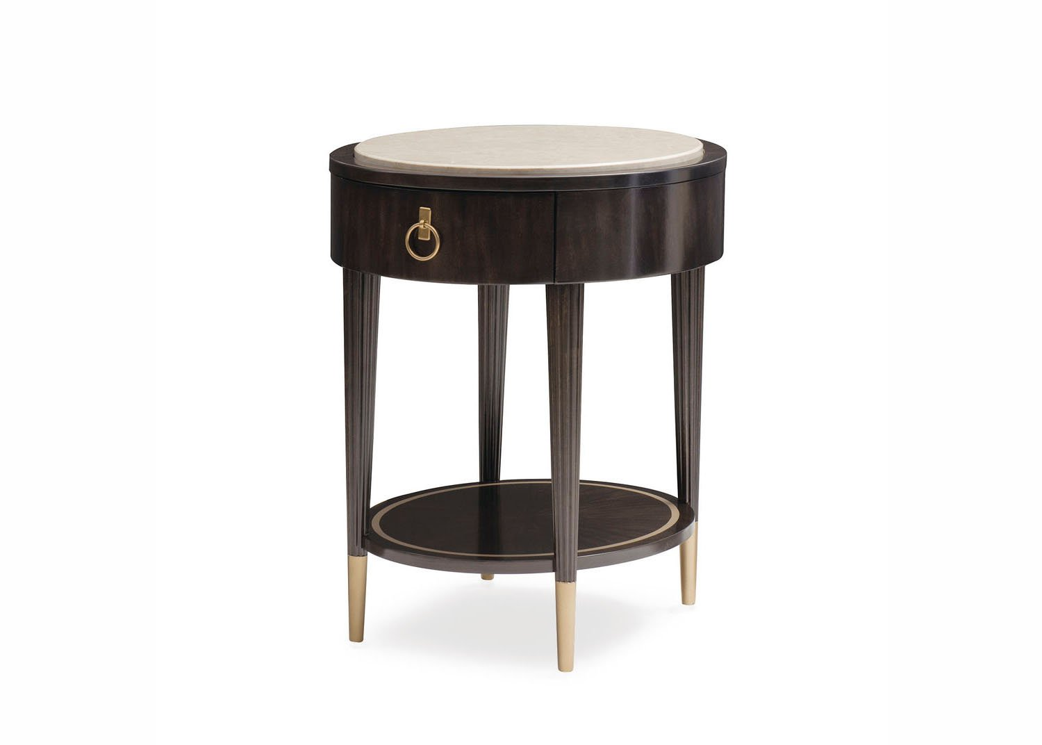 harlow table d appoint ronde mobilart decor high end furniture. Black Bedroom Furniture Sets. Home Design Ideas