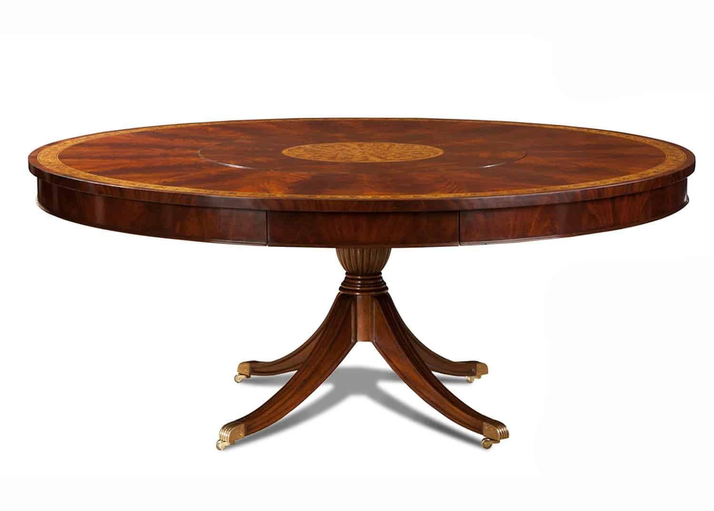 kirkham table ronde mobilart decor high end furniture. Black Bedroom Furniture Sets. Home Design Ideas