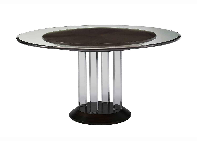metropolite table ronde mobilart decor high end furniture. Black Bedroom Furniture Sets. Home Design Ideas