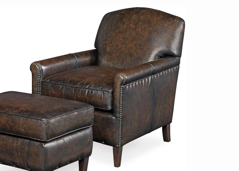 Morgan Leather Club Chair Mobilart Decor High End Furniture