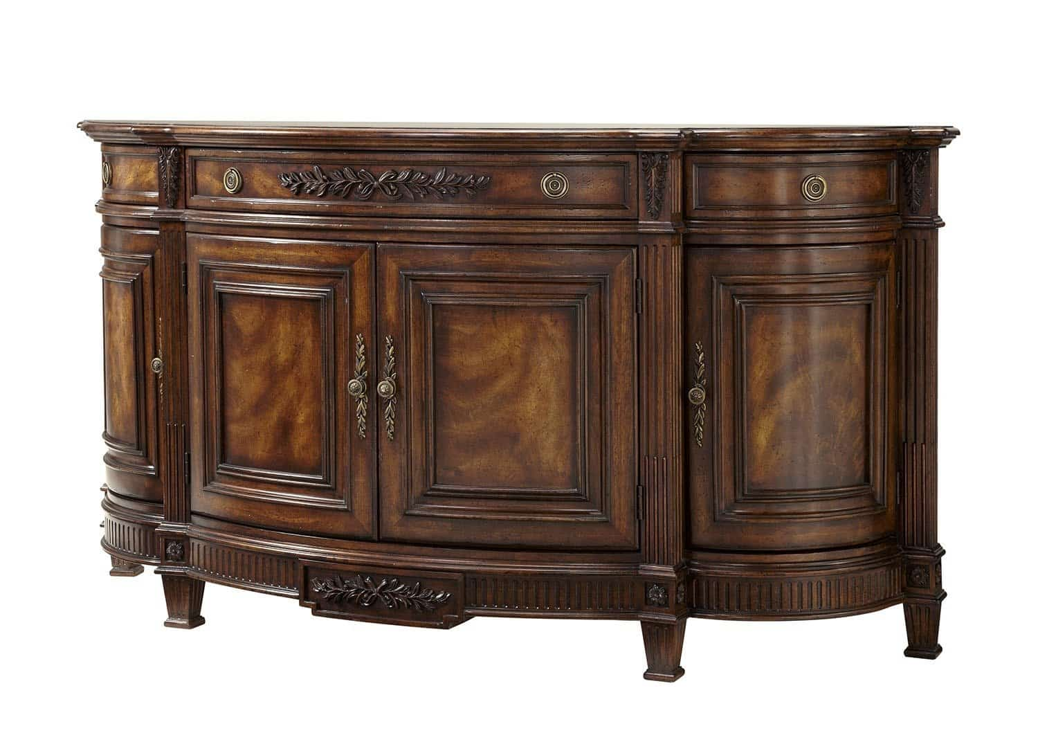 Adam credenza mobilart decor high end furniture for Buffet meuble montreal