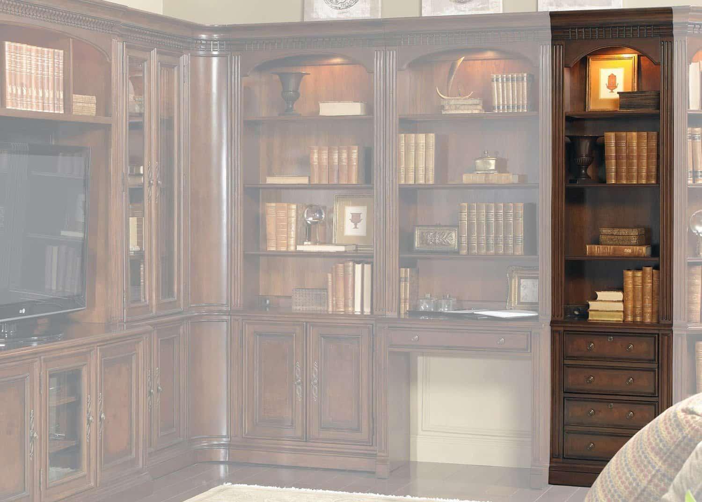 Augusta biblioth que troit classeur mobilart decor high for Meubles sectionnels montreal