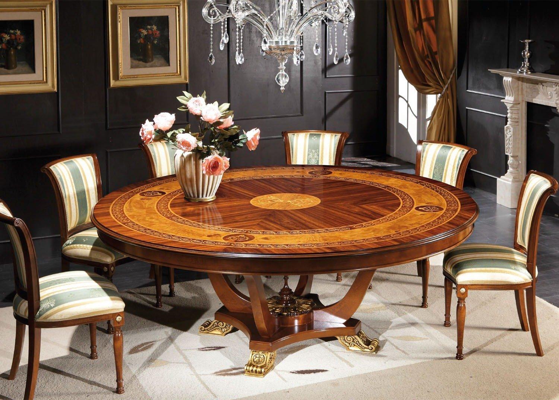 Belvedere round italian dining table mobilart decor high