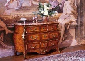 Italian rosewood commode