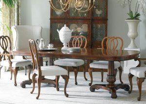 Byron_mahogany_double_pedestal_dining_table_rectangulaire_acajou_piédestal_mobilart_furniture_meubles_decor_montreal d