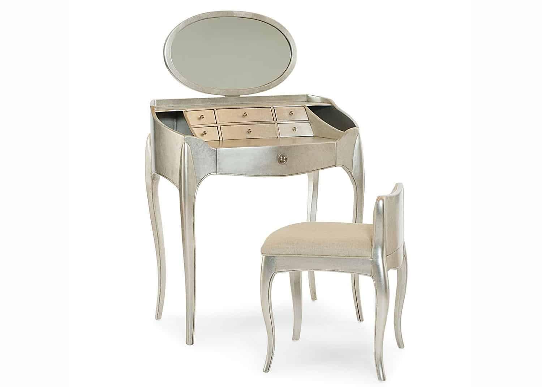 Coquette Vanity Set Mobilart Decor High End Furniture