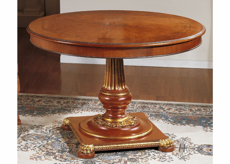 eldridge table ronde mobilart decor high end furniture. Black Bedroom Furniture Sets. Home Design Ideas