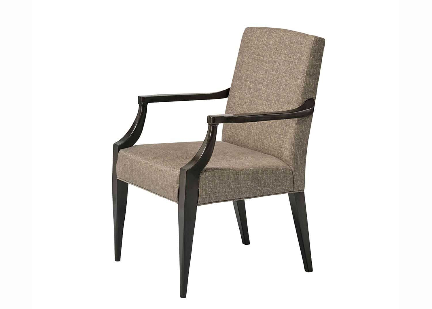 The Downing Street Executive Curio Desk: Gatsby Upholstered Armchair