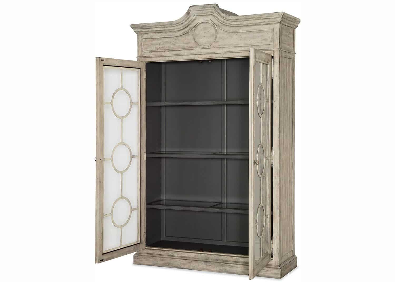 Gustav display cabinet mobilart decor high end furniture for Meuble vitrine montreal