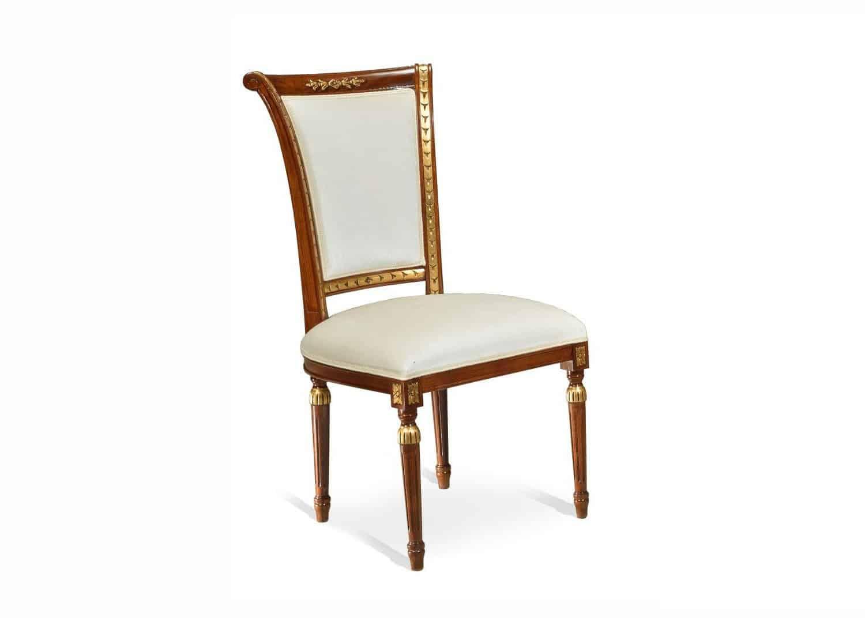 Moreau louis xvi side chair mobilart decor high end for Chaise louis xvi