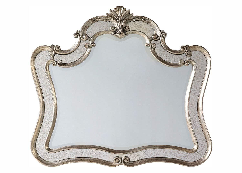 Odessa baroque mirror mobilart decor high end furniture for Miroir montreal