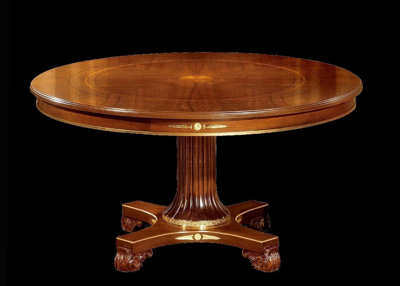 troyes table ronde mobilart decor high end furniture. Black Bedroom Furniture Sets. Home Design Ideas