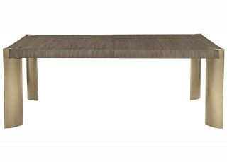 contemporary rectangular dining table