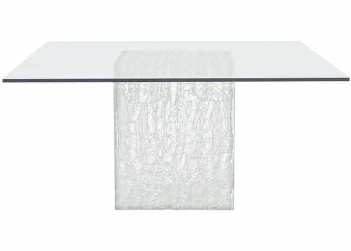 Acrylic ice cube table base