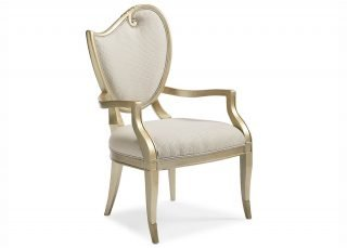 French baroque armchair