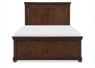 Louis Philippe Panel Bed