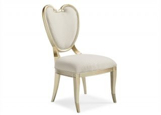transitional baroque chair