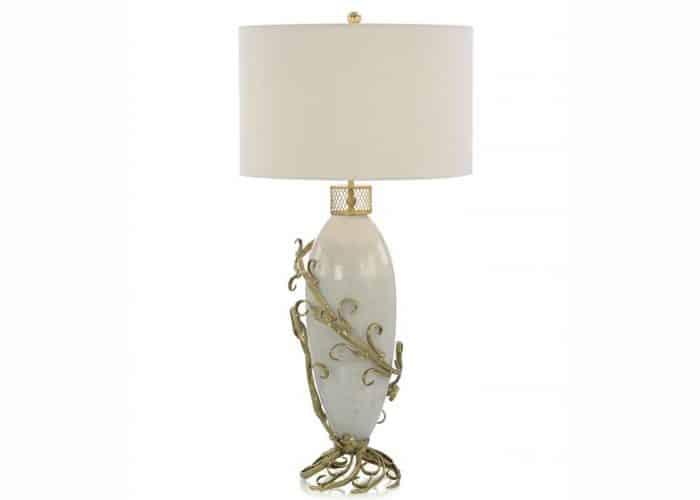 lampe classique crême