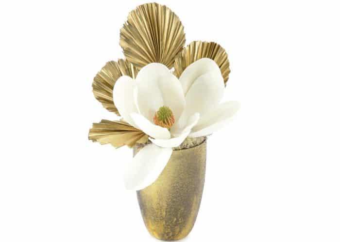 gold flower arrangement