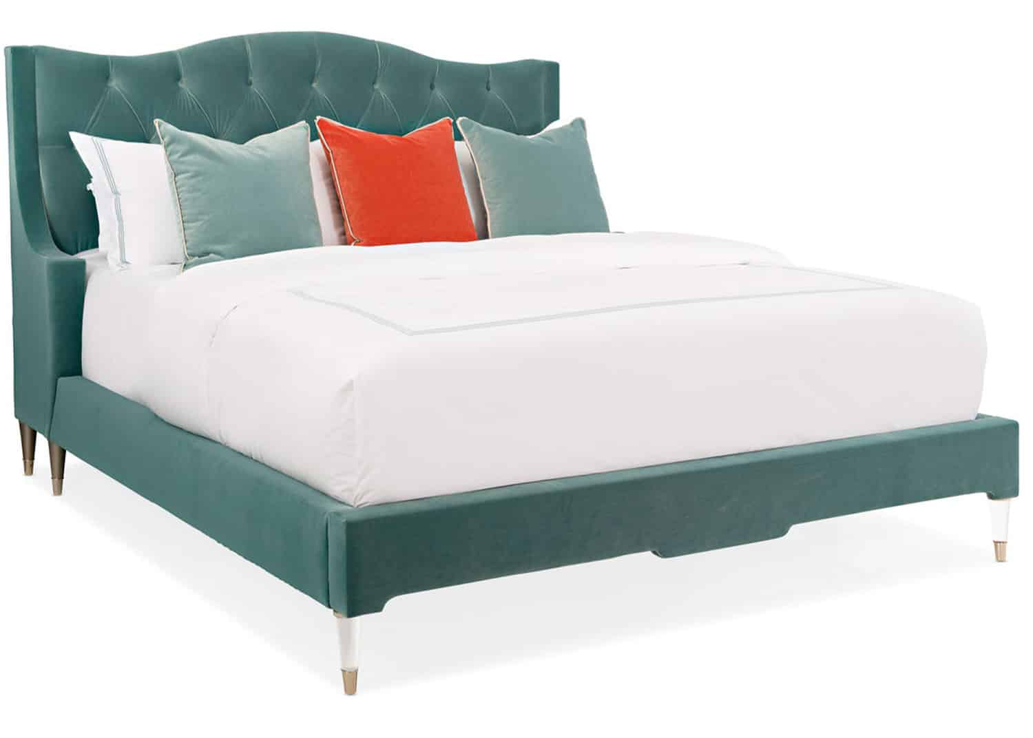 upholstered king bed