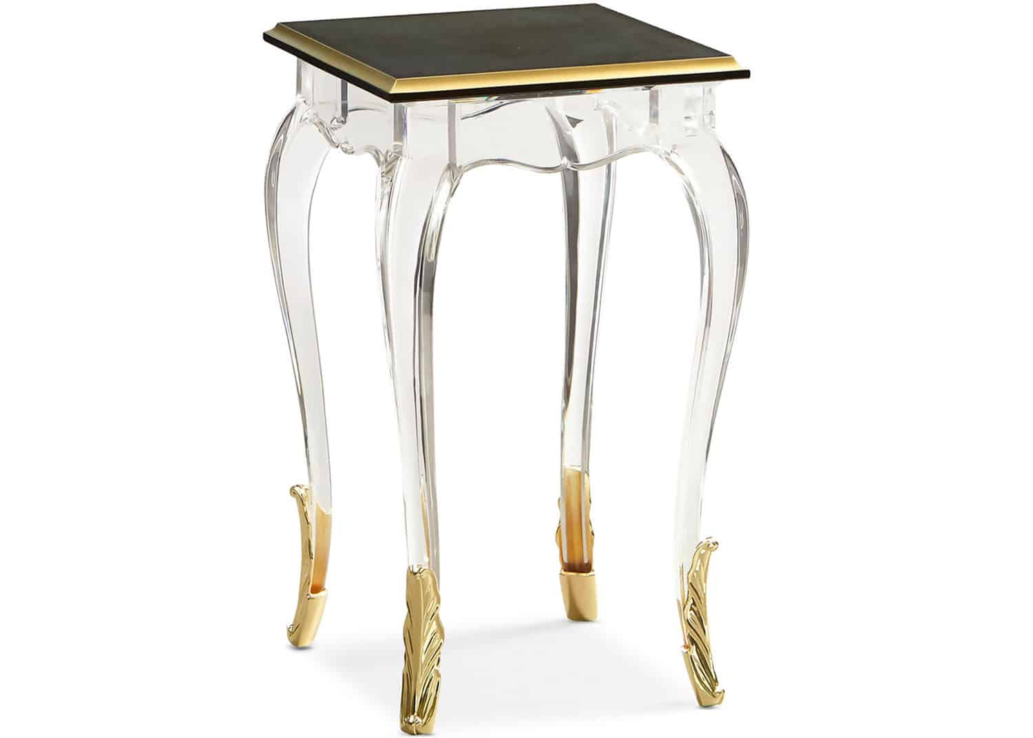 acrylic accent side table