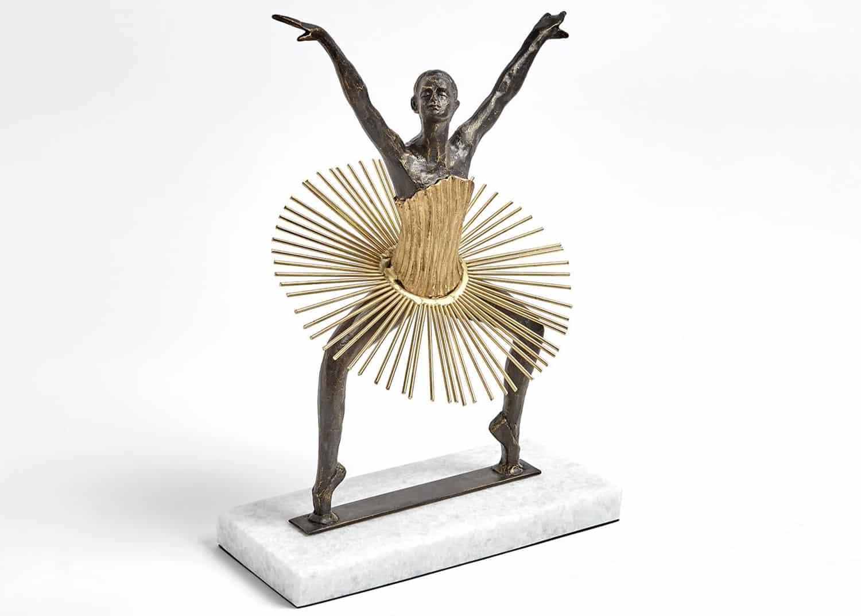figure sculptée ballerine